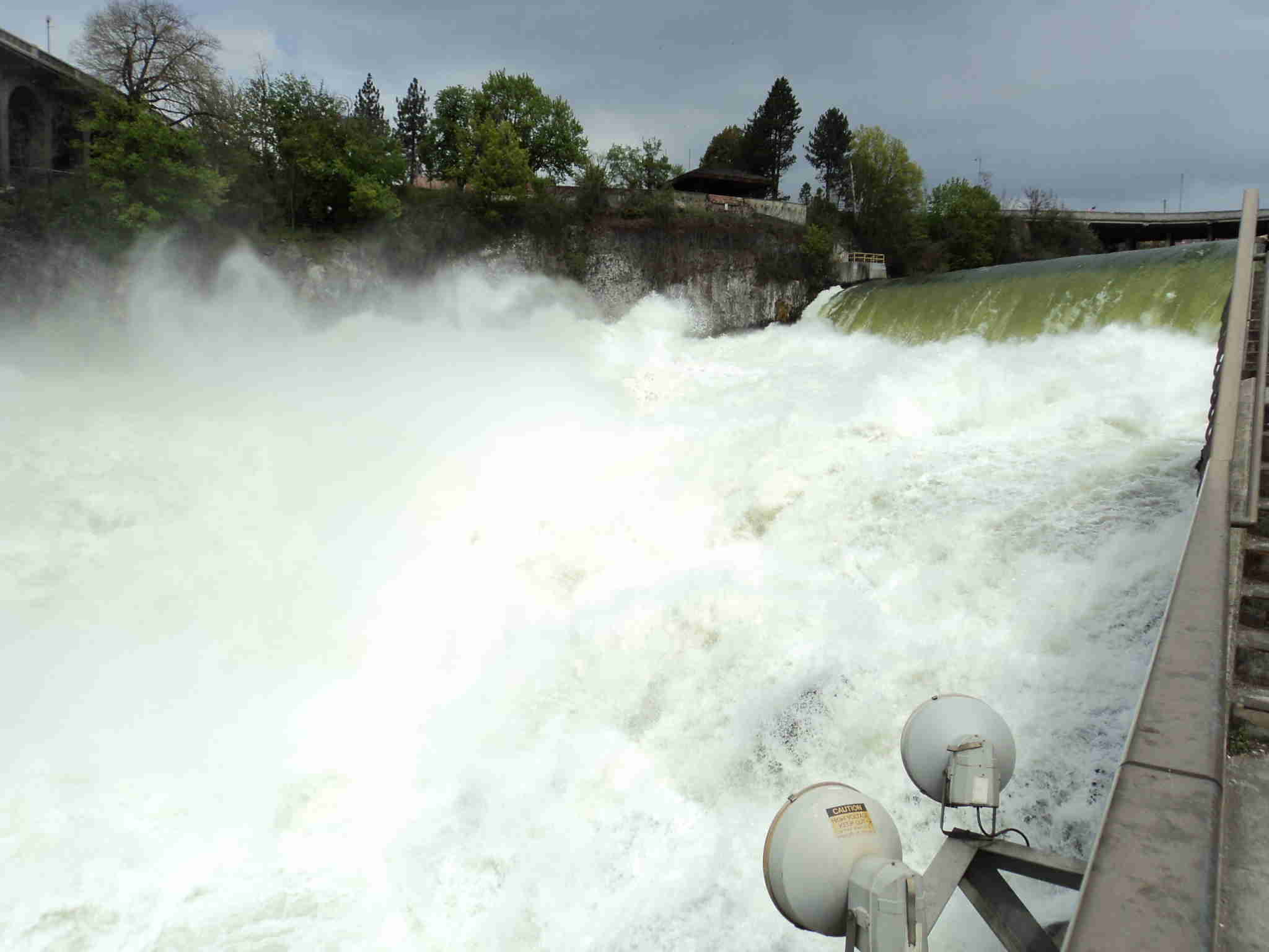 Main Drop of Spokane Falls