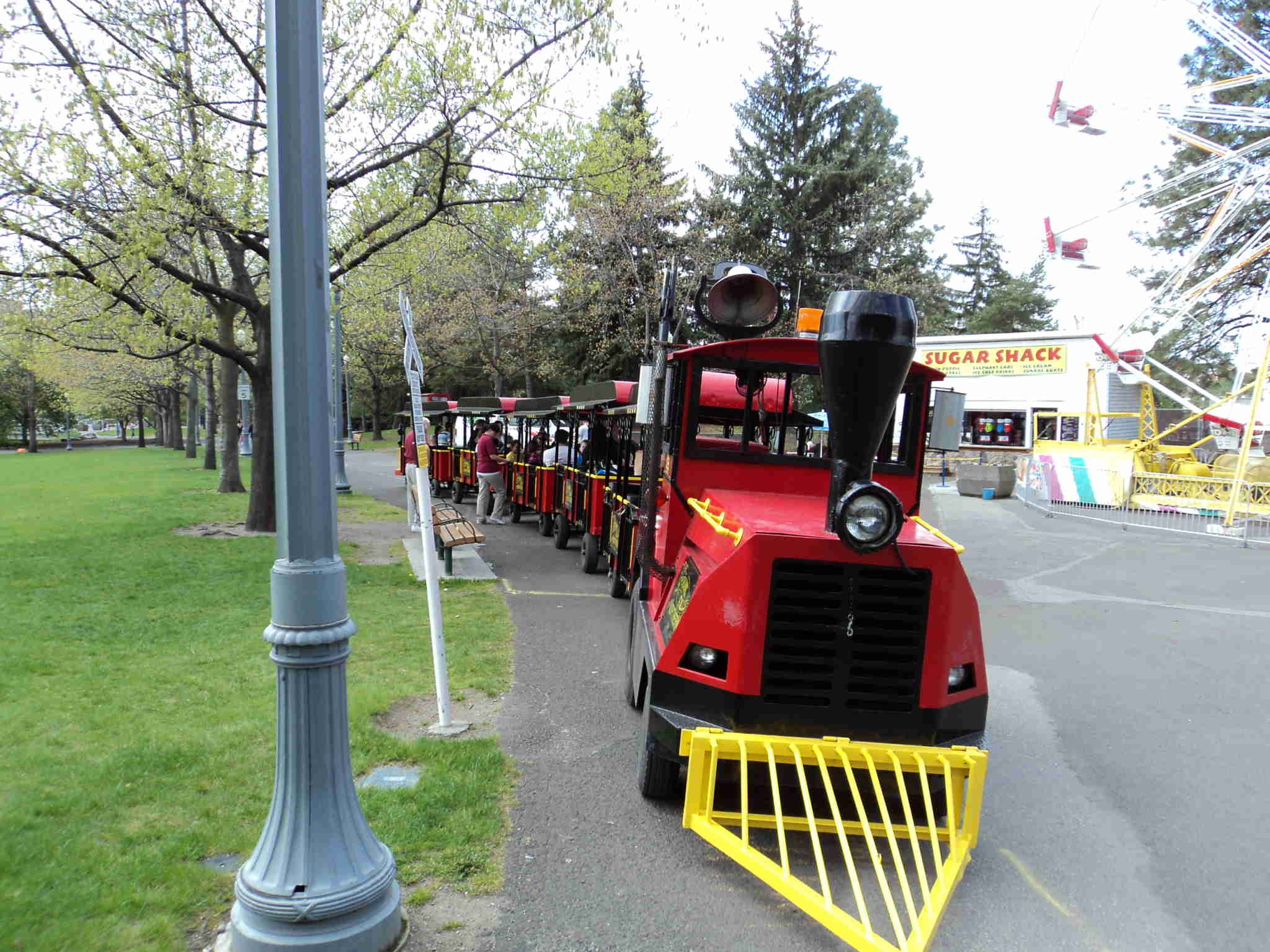 The Tour Train in Riverfront Park