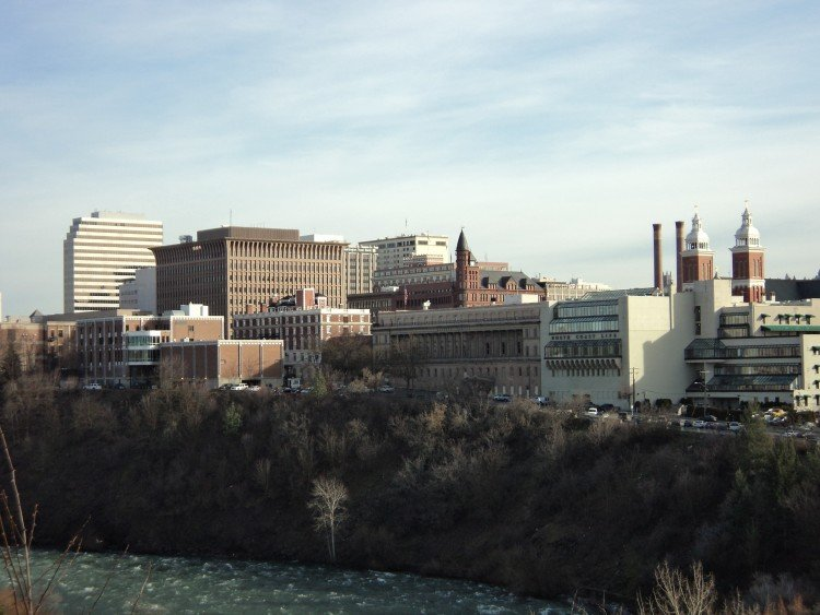 Downtown Spokane - Early 2015