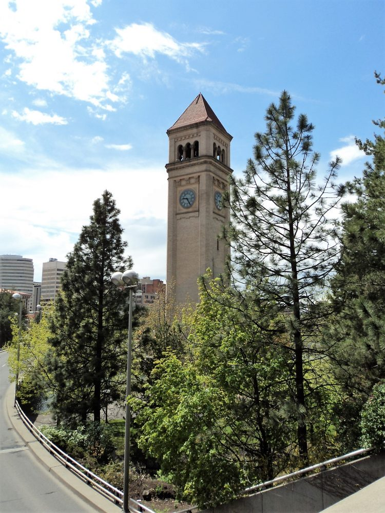 Another View of Spokane's Clock Tower