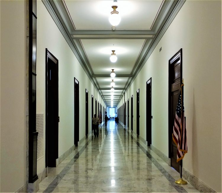 Russell Senate Office Building Hallway