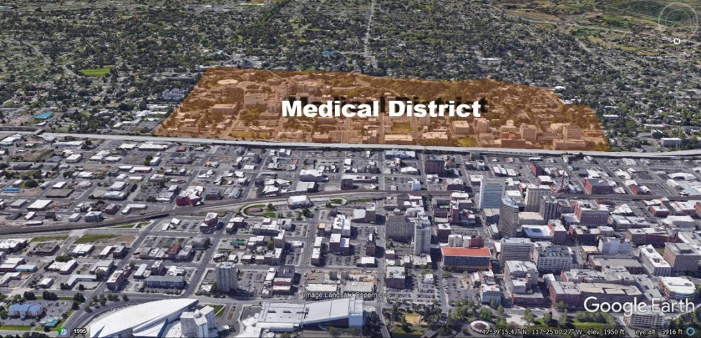 Spokane Medical District Neighborhood