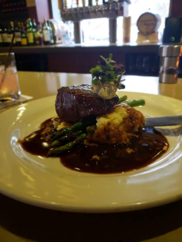 7oz Filet at Downriver Grill