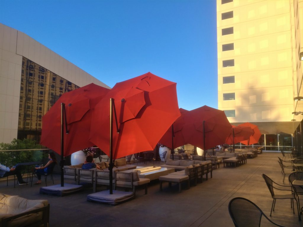 The Rooftop of the Davenport Grande