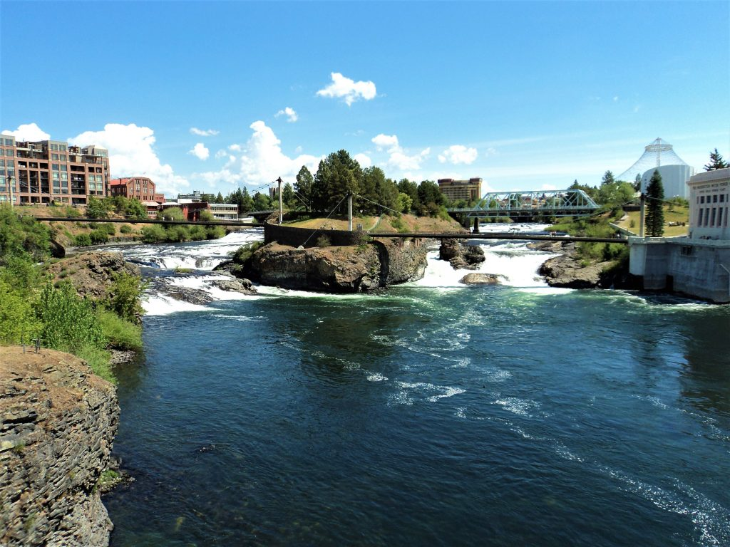 The View from Anthony's Restaurant, Spokane