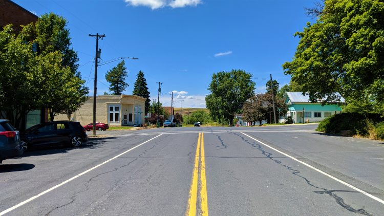 Downtown Latah, Washington