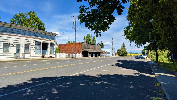 Downtown Spangle, Washington
