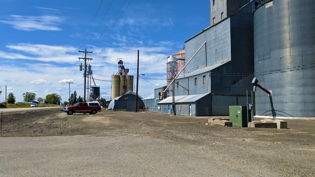 Worley, Idaho, Grain Elevator