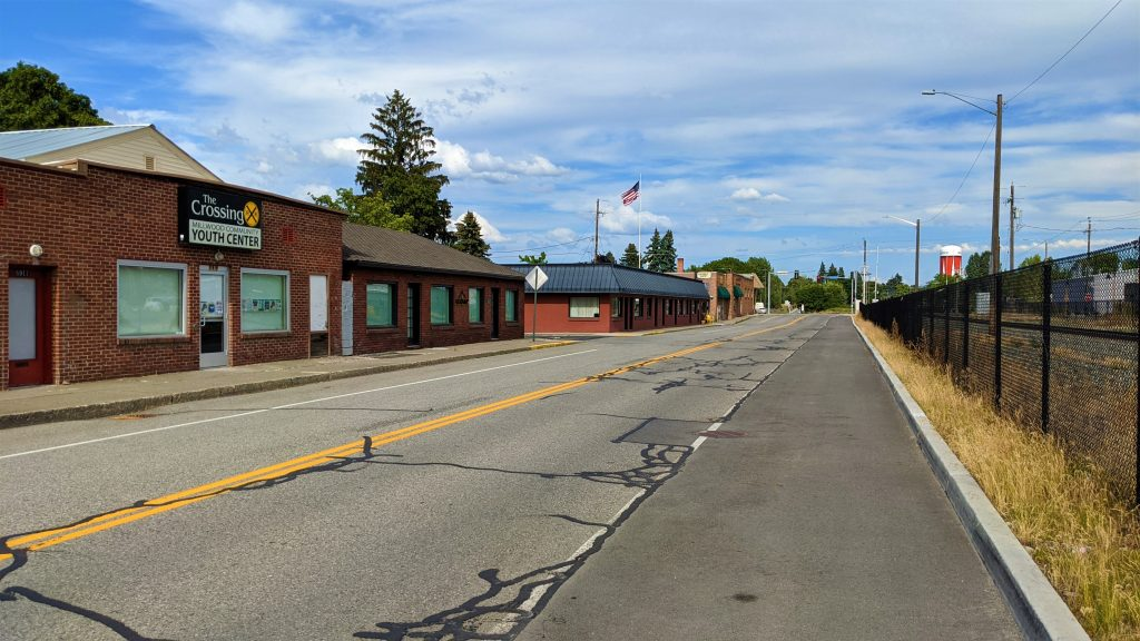 Millwood, Washington, Old Rail Town